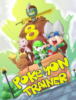 Pokemon trainer 8 cover