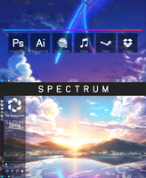 Spectrum for Rainmeter by BirdAlliance