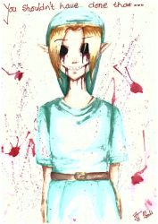 BEN DROWNED by Janchii9898