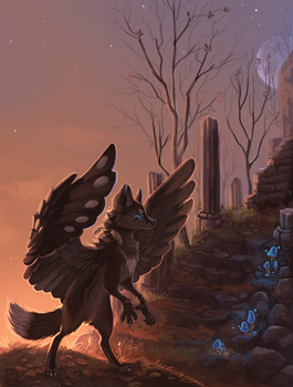 The ruins by griffsnuff