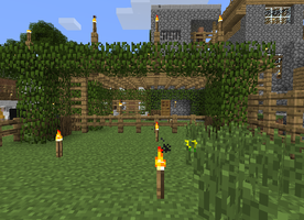 Village Creations - chicken pen 2 by DPrime123