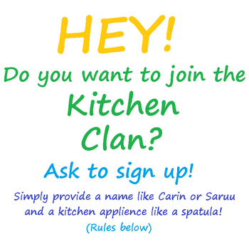 join the kitchen clan! by TheGoldKnight