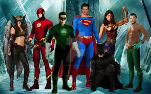 Justice League The Movie by TimDrakeRobin