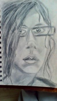 Me with reading glasses by Comedygeek1992