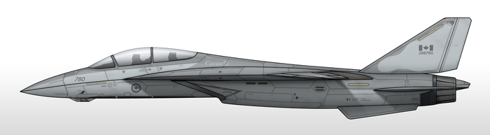 CF-28A - Royal Canadian Air Force by Jetfreak-7