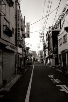 A Street in Tokyo by Animecowboy