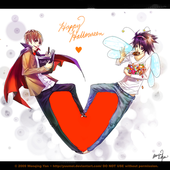 Tricky Treat by yuumei