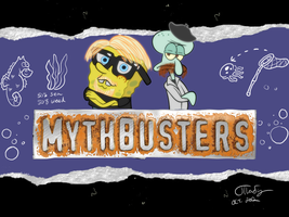 SpongeBuster MythPants by chesney