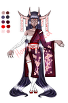 Oni Adoptable Auction #1 (OPEN) by HomeCooked