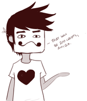 Zacharie being flawless (and asking for money) by teddileah