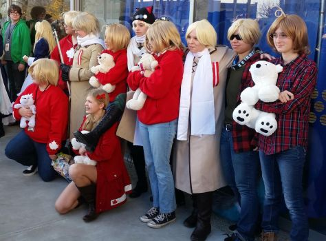 second day at Sac-Hetalia meetup-RusCan by ArthurJones93