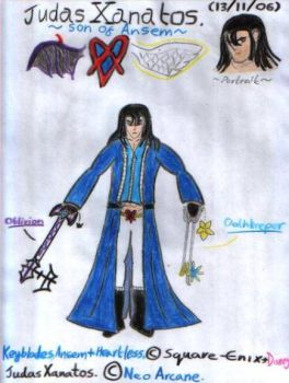 Judas Xanatos, my KH OC by Phil-Mc