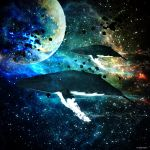 Cosmic Whales by ShaneGallagher