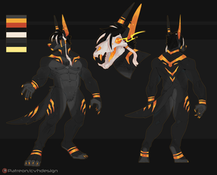 Halloween design # Anubis 584 by SithLordDeneray
