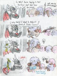 Cynder and the Pugglies, comic page 10 by Grimmyweirdy