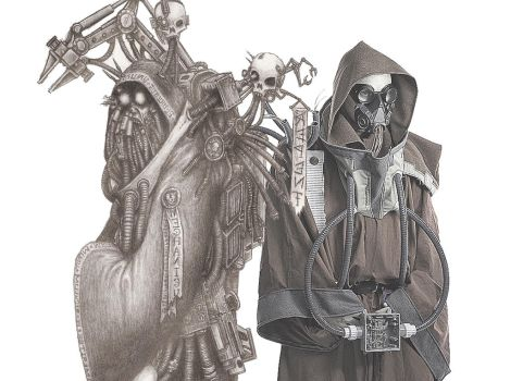 Warhammer 40k Tech Priest Cosplay by shuijingfantasy
