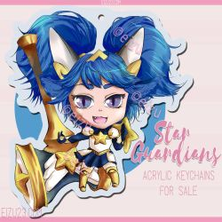 Poppy Chibi League of Legends Fanart by eizu