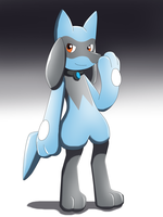 Latex Riolu Boy by Avianine