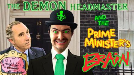 The Demon Headmaster 2: The Prime Minister's Brain by JeffreyKitsch