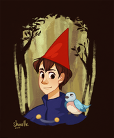 over the garden wall - wirt and beatrice by shorelle