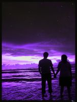 Purple Couple by aNdicTed
