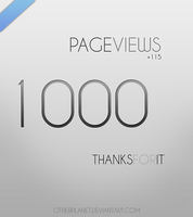 1000 pageviews by OtherPlanet