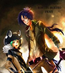 KHR:mukuro and fran 1 by hxhlxlhxh