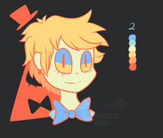 Bill Cipher [Palette challenge] by UniverseCipher