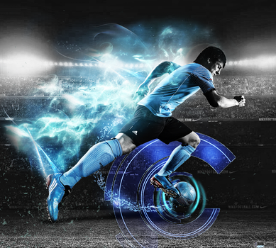 wallpaper MESSI by MTharwt