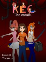 KEC the Comic issue 4 cover by misterj02