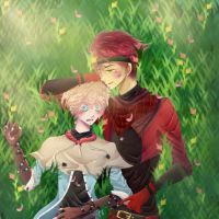 | PC | Kalm and Alexander by Chon-Chie