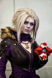 With my dear Ghost by Songbird-cosplay