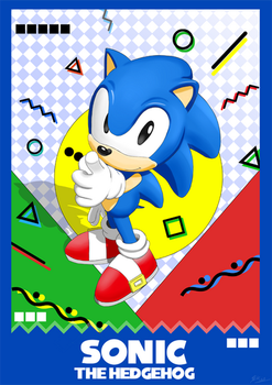 Sonic by BlackJohnMendez