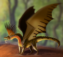 King Of the Forest by Galidor-Dragon