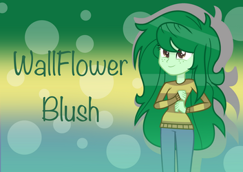 MLP WallFlower Blush by SpeedPaintJayvee12