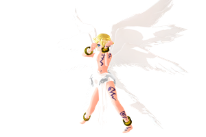 MMD Newcomer Lucemon Tda Dl by Clonesaiga