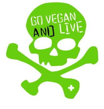 Go Vegan and Live by xlysx
