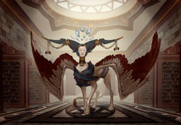 Sphinx Keeper of Knowledge by Nord-Sol