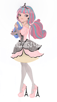 Rochelle Goyle as Ever After High : Contest entry by RapunzelitsaTangled