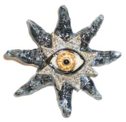 Eye Star Ornament by aberrantceramics