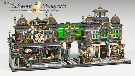 Lego Ideas:  The Clockwork Menagerie by EndlessAges