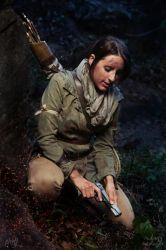 Rise of the Tomb Raider - Gun loaded... by TheLazyCosplayer