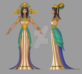 Cleopatra Detailed Concept by MirageMari