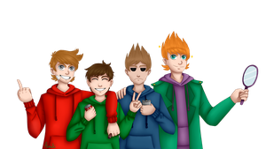 Gang [Eddsworld] by AmitiArt