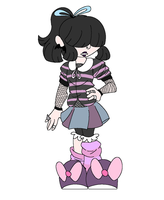 Pastel Goth Adopt [CLOSED] by MyDoggyCatMadi