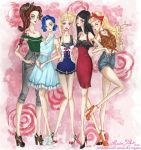 Sailor Moon girls by AlexaFV