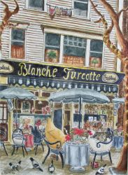 Coffee at Blanche's by LilyRaine