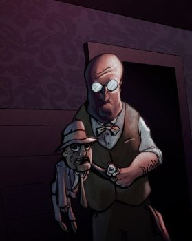 The Ventriloquist by sman118