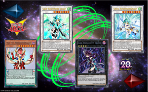 Yugioh Arc-V Dimension Dragons Orica by yeidenex