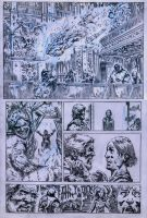 SanEspina JupiterLegacy Page2 pencils by santiagocomics
